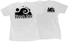 Mauli - Ola Logo Ss M - Wht / Blk