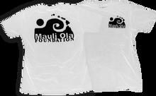 Mauli - Ola Logo Ss L - Wht / Blk
