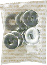 Mini Logo - 10 ack Kingpin Bottom Washer Silver