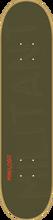 Mini Logo - Deck 126 / K - 12 - 7.62 Green Ppp - Skateboard Deck