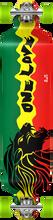 Punked - Rasta Ii Drop - Thru Complete - 9x41 Ppp - Complete Skateboard