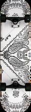 Punked - Bandana Complete - 7.75 White Ppp - Complete Skateboard