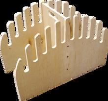 Reg - Wood Skimboard Waterfall Rack - 10 Slots - Surfboard Rack