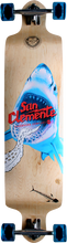 San Clemente - Drop - Down Shark Racer Complete - 9.63x41.25 Ppp - Complete Skateboard