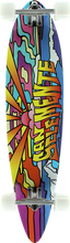 San Clemente - Pintail Stained Glass 4 Complete - 8.95x38 - Complete Skateboard