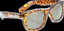 Santa Cruz - Strip Shades Wayfarer Sunglasses Brn Tortoise