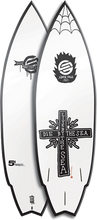 "Santa Cruz - Ozzy Wright Cross 5' - 4"" Wing Swallow W / Bag Sale"