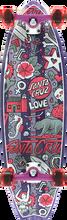 Santa Cruz - Doodle Shark Complete - 9.75x32.92 - Complete Skateboard