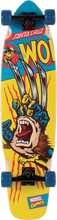Santa Cruz - Marvel Wolverine Hand Cruiser Complete - 9.3x36 - Complete Skateboard