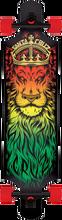 Santa Cruz - Drop - Thru Lion God Complete - 10x40 Rasta - Complete Skateboard