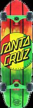 Santa Cruz - Rasta Dot Jammer Complete - 9.22x33 - Complete Skateboard