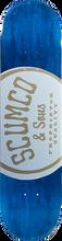 Scumco - Logo Board Deck - 8.0 - Skateboard Deck