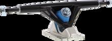 Seismic - Aeon 180mm 45° Blk / Silver - (Pair) Skateboard Trucks