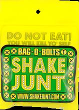 "Shake Junt - Bag - O - Bolts All Grn & Yel 1"" Phillips 1set"