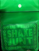 """Shake Junt - Bag - O - Bolts Blk / Grn / Yel 1"""" Phillips 1set"""