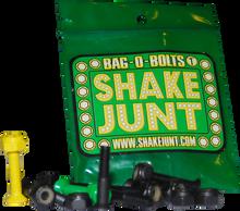 """Shake Junt - Bag - O - Bolts Blk / Grn / Yel 7 / 8""""(allen) 1set"""