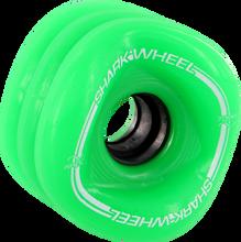 Shark Wheels - Sidewinder 70mm 78a Green - (Set of Four) Skateboard Wheels
