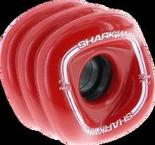 Shark Wheels - Sidewinder 70mm 78a Red - (Set of Four) Skateboard Wheels