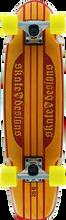 Skate Designs - Designs B52 Beveler Complete Org / Red 7.5x28 - Complete Skateboard