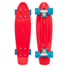 "Penny Skateboard - Original 22"" Red Blue - Complete"