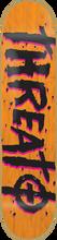 Threat - Street Trash Deck - 7.62 Orange Ppp Sale - Skateboard Deck