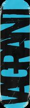 Vagrant - Logo Deck - 8.25 Blk / Blu - Skateboard Deck