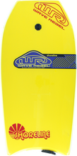"Wave Rebel - Rebel Shoreline 39"" Yel Bodyboard"