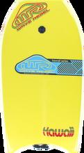 "Wave Rebel - Rebel Hawaii 36"" Yel Bodyboard"