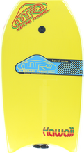 "Wave Rebel - Rebel Hawaii 42"" Yel Bodyboard"