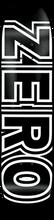 Zero - Bold Deck - 8.25 Black - Skateboard Deck