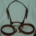 Australian made Rolled Leather Halters