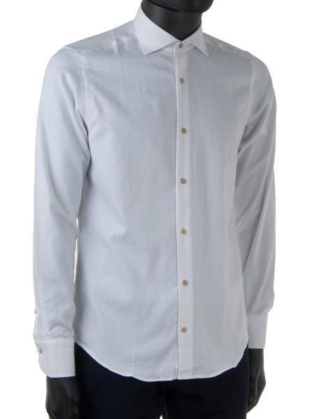 Stone Cashew Weave Cotton Shirt