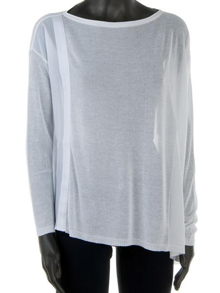 White Semi-Sheer Top