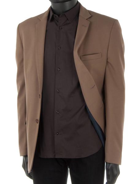 Brown Stretch Shirt