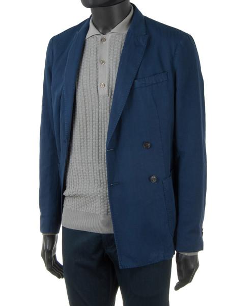 Stone Long Sleeve Knit Polo Shirt