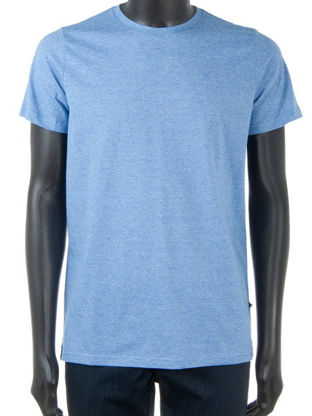 Sky Blue Marle Pure Cotton T-Shirt