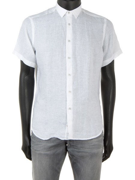 White Light Linen Shirt