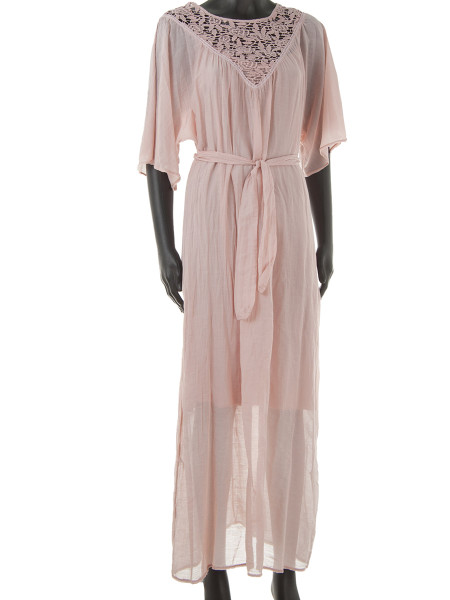 Old Rose Maxi Kaftan Dress