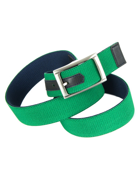 Green & Navy Reversible Belt