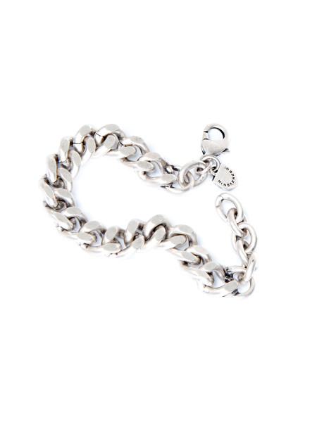 Chunky Silver Tone Bracelet
