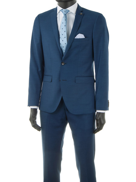 Ocean Blue 2 Piece Suit