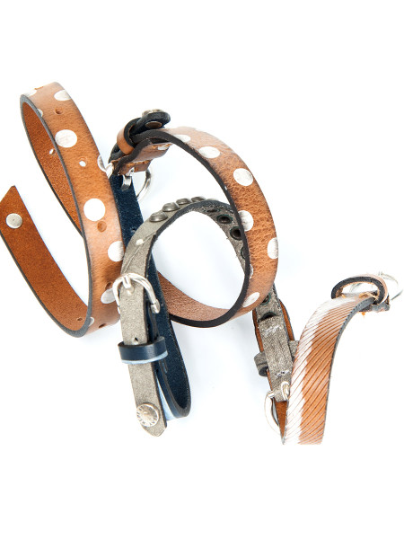 Multi Detail Leather Belt
