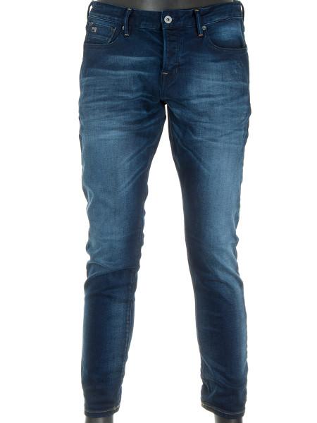 Dark Blue Washed Jeans