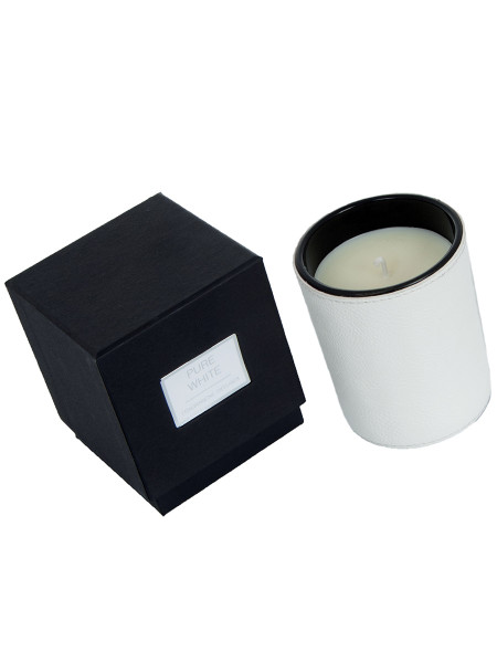 Pure White Large Candle