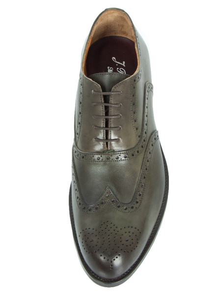 Dark Khaki Napoli Brogue