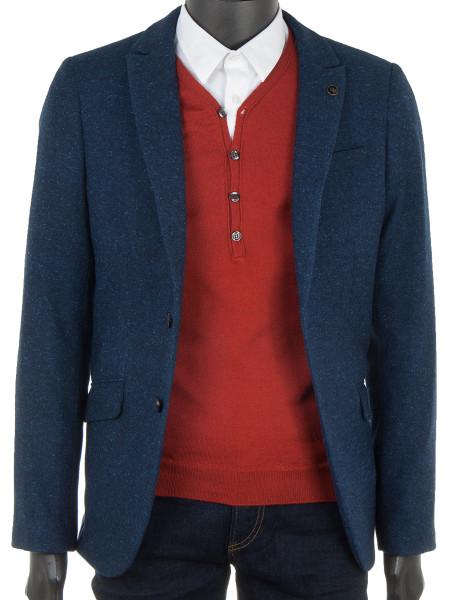 Burnt Orange Wool Mix Sweater