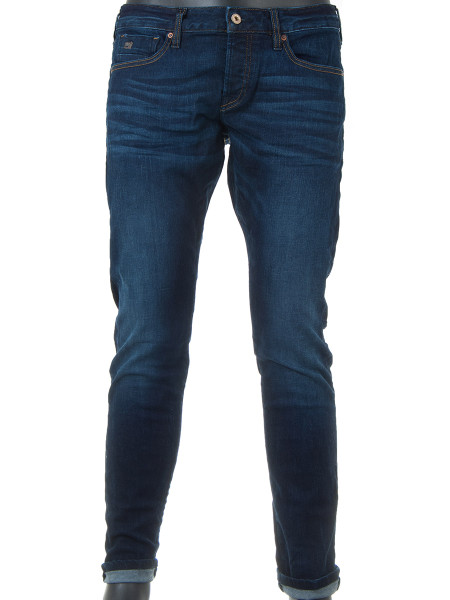 Summer Denim Deep Blue Jeans