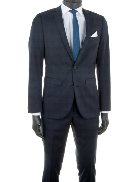 Dark Navy Prince of Wales Suit