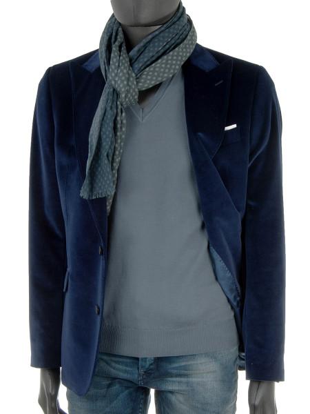 Jeans Blue V-Neck Pullover