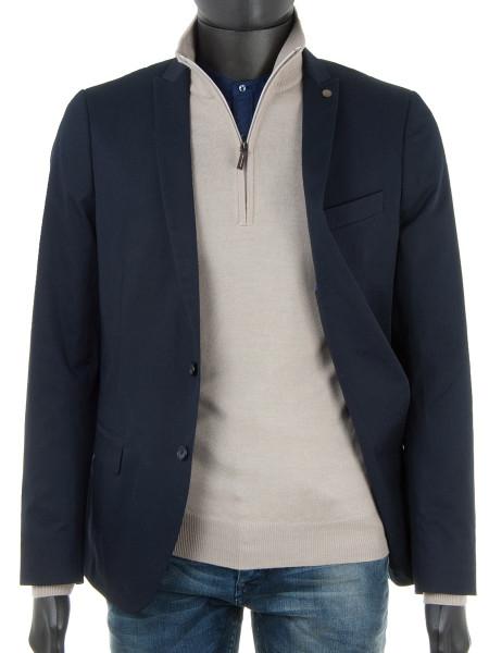Stone Zip Polo Neck Sweater